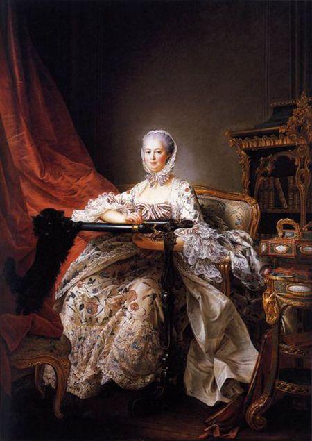 Drouais, Mme de Pompadour at 42 1764
